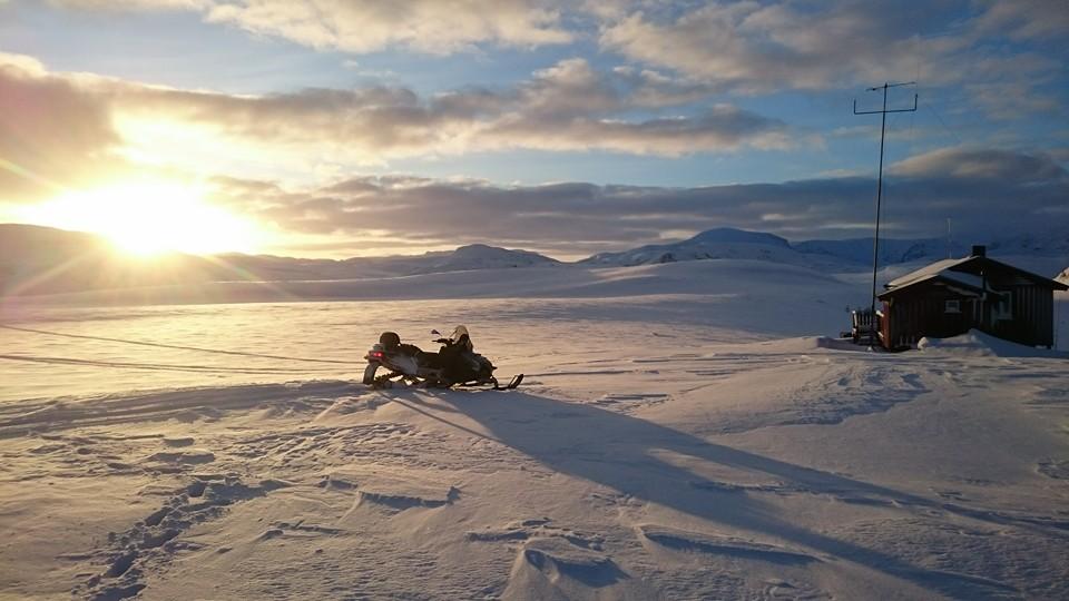 Friområder for snøscootere